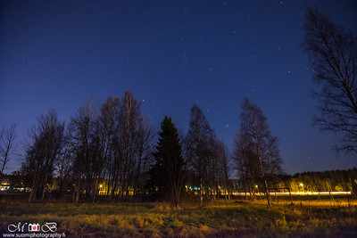 Night Shot - Kaskela 26.10.2016