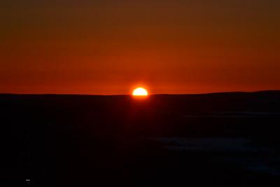 Sunset in Levi