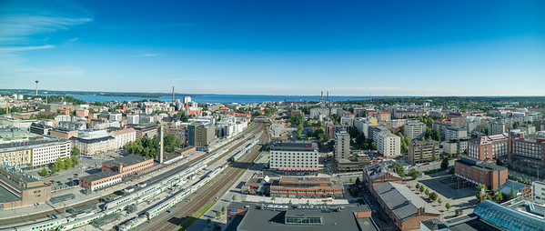 Tampere  - view from Hotel Torni - Floor 23