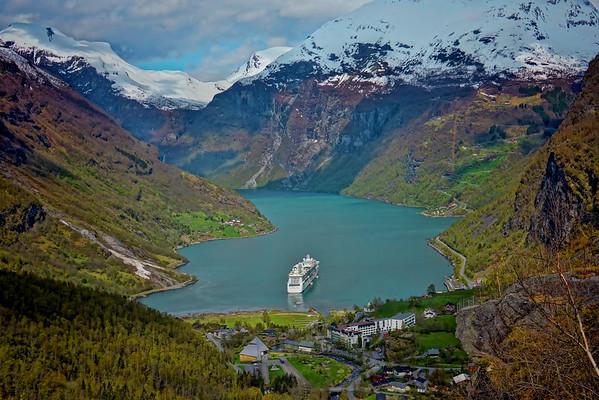 The  Geirangerfjord, #0364