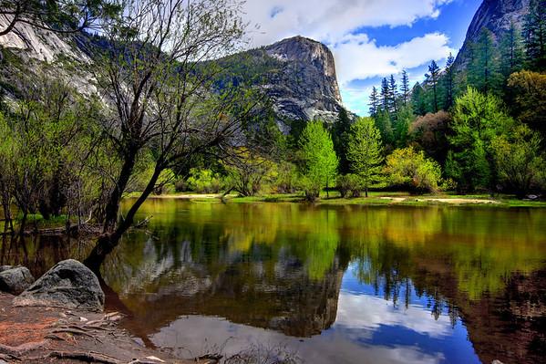 Mirror Lake in Yosemite National Park, California, #0082