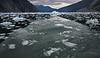 Ice flow on LeConte Bay Glacier near Wrangell, AK, #0418