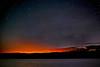 Night stars looking toward Thunder Bay from Isle Royale,   - #0706
