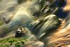 Rushing water at Bond Falls near Paulding, Michigan, on the Ontonagon river --  #0073.