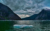 Ice flow on Stikine River near LeConte Glacier, Wrangell, AK, #0452