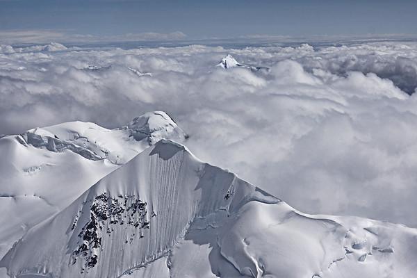 Mountains surrounding Mount McKinley (Denali), #0440