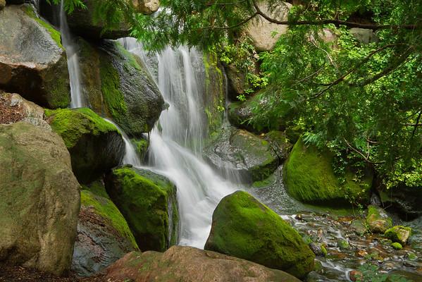 Minnesota Arboretum waterfalls, August, #0457