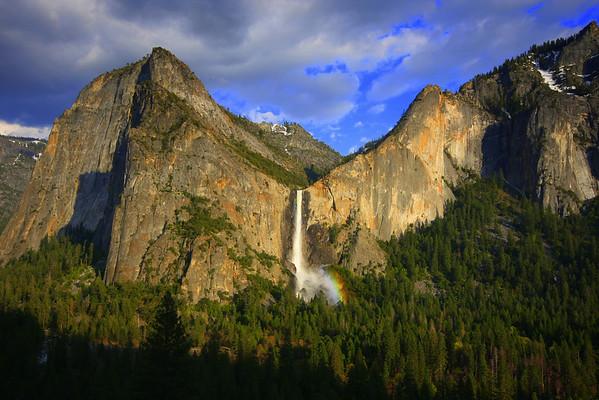 Brideveil Falls, Yosemite National Park, California, #0079