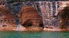 Rock caves along the shores of Lake Superior, Red Cliff, Wisconsin, near Apostle Islands, #0105