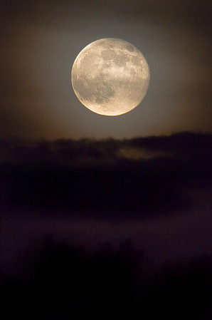 Super moon  in Shoreview, Minnesota, #0708