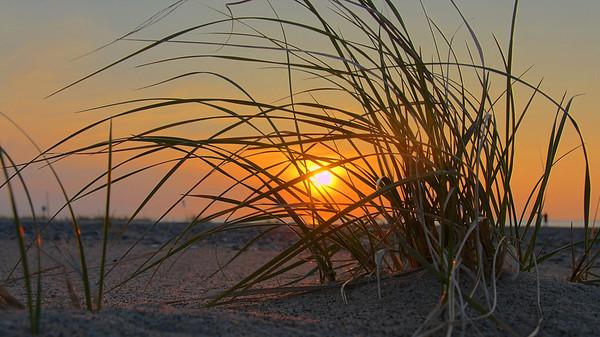 Sunset on Lake Superior at Grand Marais, Michigan, 0053
