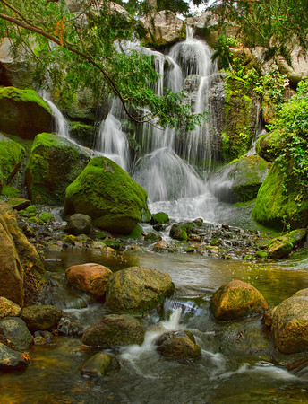Minnesota Arboretum waterfalls, August, #0458