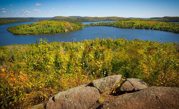Lake Caribou vista near Lutsen, #0166