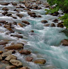 Rushing waters of streams near Anchorage, Alaska, #0439