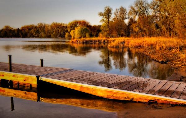 Snail Lake - early Spring  -#0690