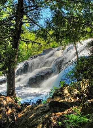 Bond Falls near Paulding, Michigan, on the Ontonagon river #0070