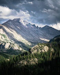 View from Rocky Mountain National Park