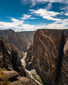 The Black Canyon of the Gunnison National Park