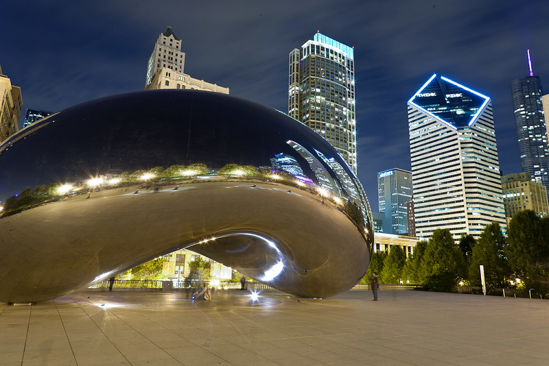 Millennium Park Cloud Gate, Chicago
