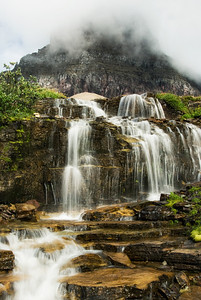 Glacier National Park Falls