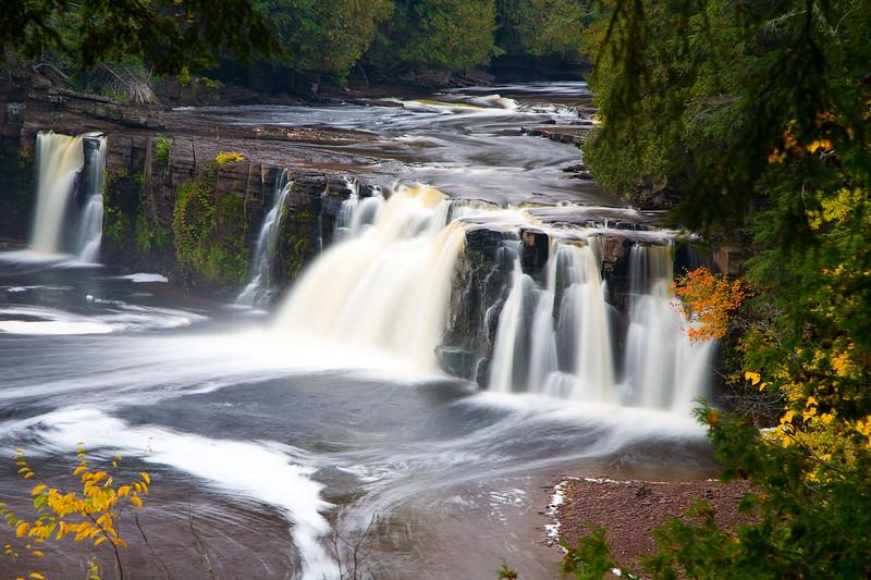 Manabezho Falls, Presque Isle River