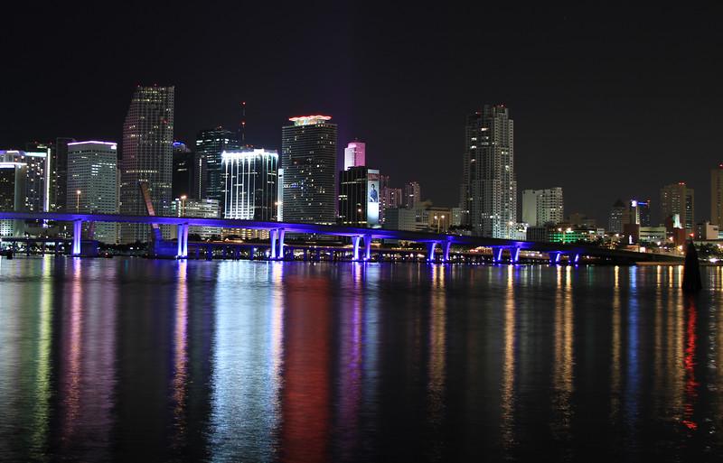Cropped Miami Skyline