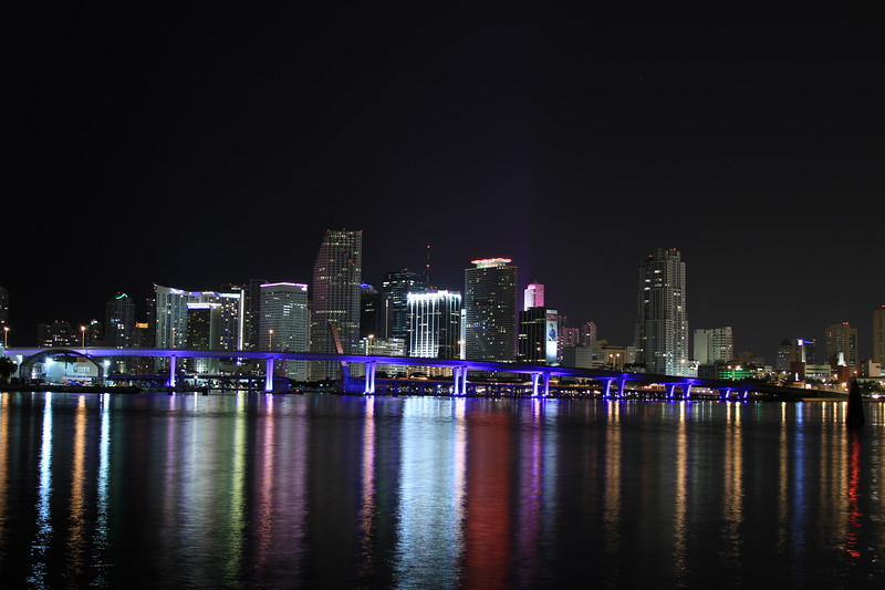 Miami's Skyline from Watson Island