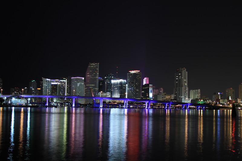Miami's Skyline from Watson Island