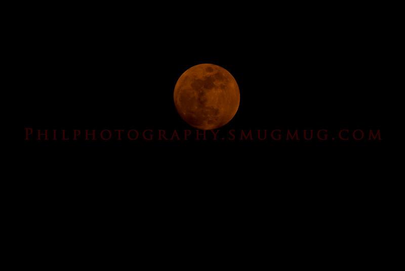 Reddish Moon 06/14/2011