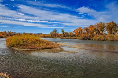 River landscape. 2246