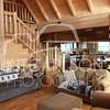 Stargazer Cabin - Living Room and Kitchen
