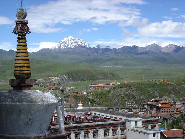 Tagong, eastern tibet