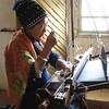 Weaving with a loom
