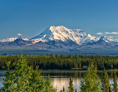 Mt. Drum and Willow Lake