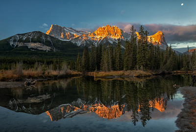 A Fine Morning in Canmore Alberta