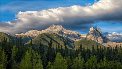 Mt. Lougheed and The Windtower