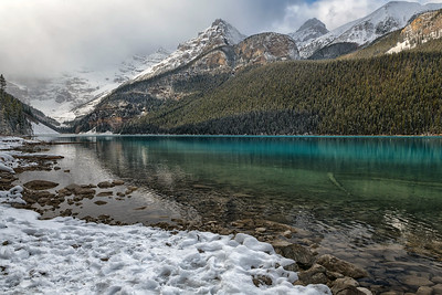 Solitude at Lake Louise
