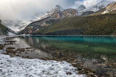 Solitude at Lake Louise