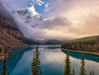 Moraine Lake Magic
