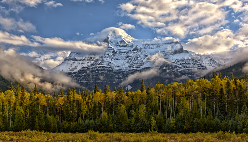 Autumn at Mt. Robson