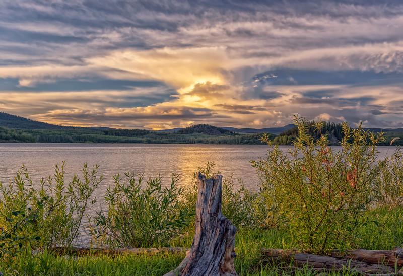 Fraser Lake Sunset