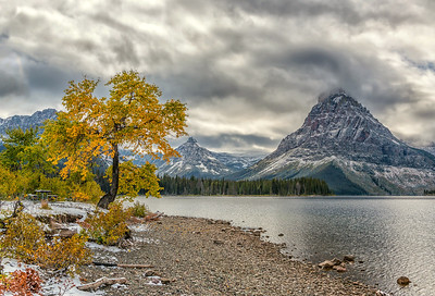 Autumn at Two Medicine Lake
