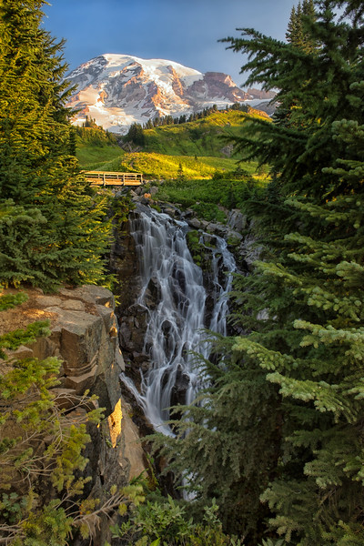Morning at Myrtle Falls