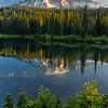 Sunrise at Reflection Lakes