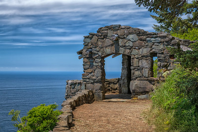Cape Perpetua Stone Shelter
