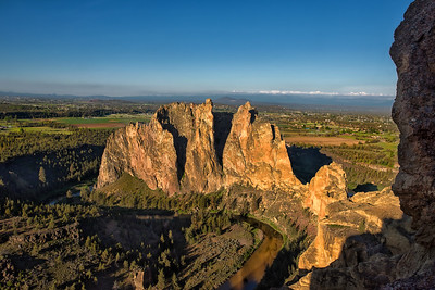 First Light on Smith Rock