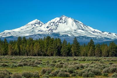 Twin Volcanoes