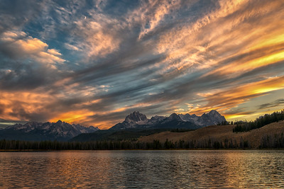 Sawtooth Sunset Skies