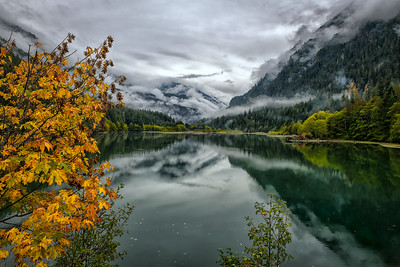 Moody Diablo Lake