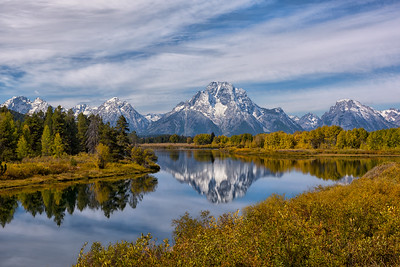 Reflecting on Mt. Moran